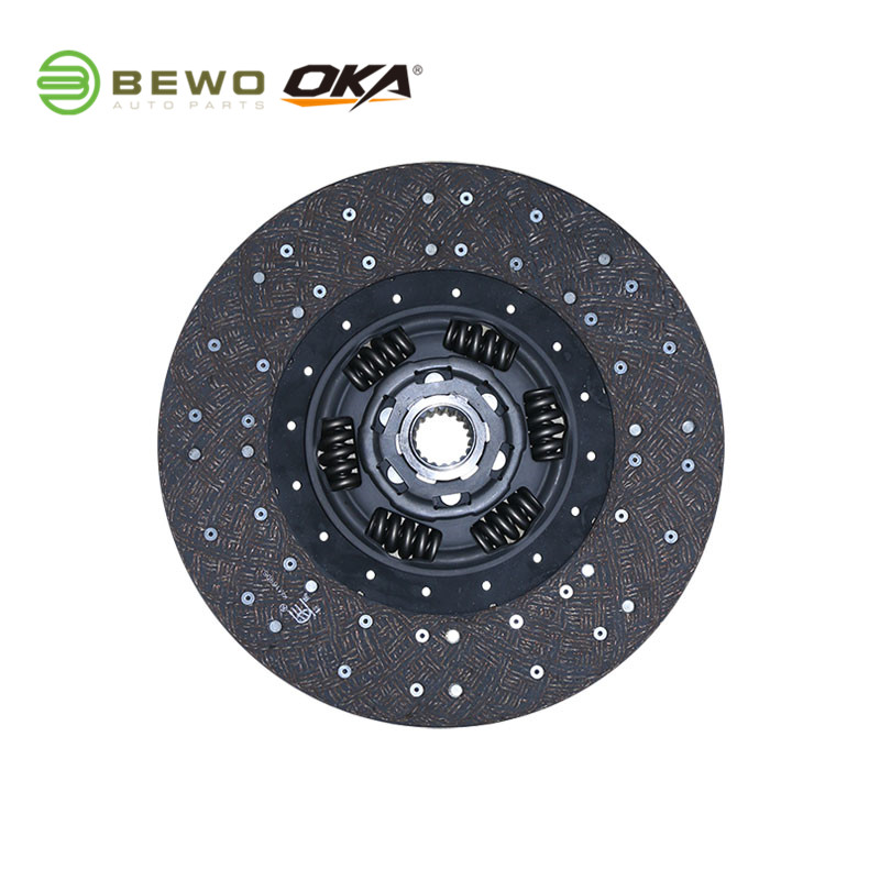 Hot Selling OKA/BEWO Heavy Duty Truck Clutch Disc SACHS 1878004232 395Mm For BENZ  ATEGO AXOR  3400000353 With Low Price