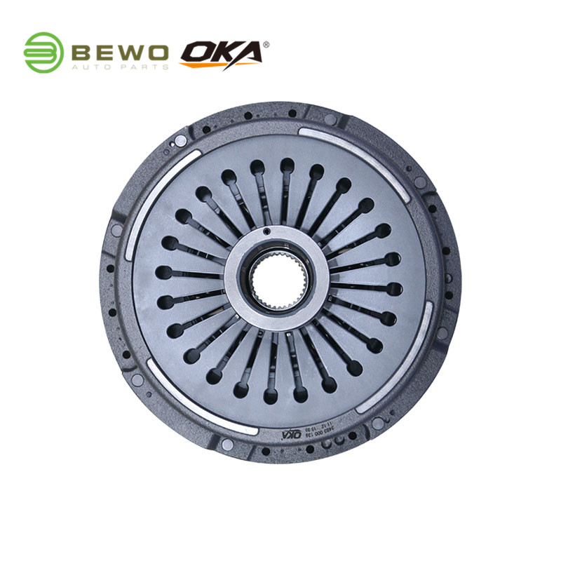 pressure plate SACHS 3483000139 OKA/BEWO Heavy Duty Truck Clutch Cover  430MM For BENZ ACTROS AXOR ATEGO  Made In China